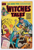 Golden Age (1938-1955):Horror, Witches Tales #1 (Harvey, 1951) Condition: VG....