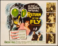 "Movie Posters:Science Fiction, Return of the Fly (20th Century Fox, 1959). Half Sheet (22"" X 28"").Science Fiction.. ..."