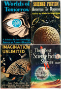 Books:Science Fiction & Fantasy, [Ray Bradbury]. Group of Four Science Fiction Anthologies Including Early Works by Bradbury. Various publishers, [1952 - 195... (Total: 4 Items)