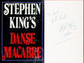 Books:Horror & Supernatural, Stephen King. INSCRIBED. Danse Macabre. New York: EverestHouse, [1981]....