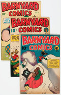 Golden Age (1938-1955):Humor, Barnyard Comics Group of 13 (Nedor Publications, 1945-50) Condition: Average VG.... (Total: 13 Comic Books)