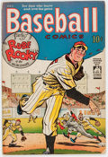 Golden Age (1938-1955):Miscellaneous, Baseball Comics #1 (Will Eisner, 1949) Condition: VG-....