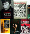 Books:Horror & Supernatural, [Stephen King]. Group of Six Books Relating to Stephen King.Various publishers and dates.... (Total: 6 Items)