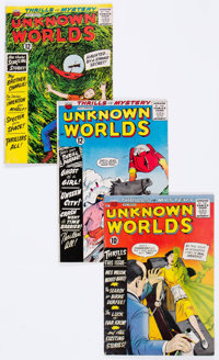 Unknown Worlds Group of 35 (ACG, 1961-67) Condition: Average GD/VG.... (Total: 35 Comic Books)