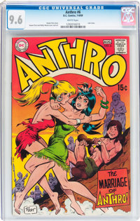 Anthro #6 (DC, 1969) CGC NM+ 9.6 White pages