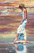 Fine Art - Painting, American:Contemporary   (1950 to present)  , Howard Behrens (American, 1933-2014). Stepping Lightly. Oilon canvas. 56 x 36 inches (142.2 x 91.4 cm). Signed lower le...