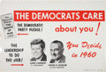 Political:Posters & Broadsides (1896-present), Kennedy & Johnson: Large Jugate Michigan Poster....