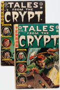 Golden Age (1938-1955):Horror, Tales From the Crypt #38 and 46 Group (EC, 1953-54) Condition:Average GD.... (Total: 2 )