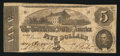 Confederate Notes:1862 Issues, T53 $5 1862 PF-7 Cr. 385.. ...