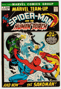 Marvel Team-Up #1 Spider-Man and the Human Torch (Marvel, 1972) Condition: VF+