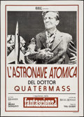 """Movie Posters:Science Fiction, The Quatermass Xperiment (BBC, R-1970s). Italian 2 - Foglio (39.25"""" X 55.25""""). Science Fiction.. ..."""