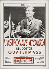 "The Quatermass Xperiment (BBC, R-1970s). Italian 2 - Foglio (39.25"" X 55.25""). Science Fiction"