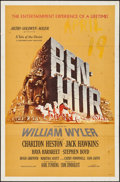 "Movie Posters:Academy Award Winners, Ben-Hur (MGM, 1959). First Release One Sheet (27"" X 41""). Academy Award Winners.. ..."