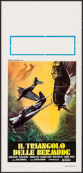 "Movie Posters:Horror, The Bermuda Triangle (Pel Mex, 1978). Italian Locandina (13"" X 27.5""). Horror.. ..."