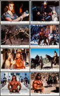 "Movie Posters:Action, Conan the Destroyer (Universal, 1984). Mini Lobby Card Set of 8& Photos (11) (approx. 8"" X 10""). Action.. ... (Total: 19Items)"