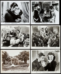 "Gone with the Wind (MGM, R-1961 & R-1968). Photos (11) (8"" X 10""). Academy Award Winners. ... (Total: 11 I..."
