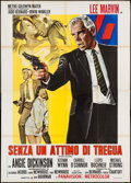 "Movie Posters:Crime, Point Blank (MGM, 1968). Italian 4 - Foglio (55"" X 77""). Crime.. ..."