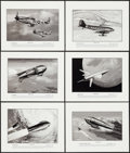 """Movie Posters:Science Fiction, Rocketship X-M & Others by Richard Groh (1990s). AutographedArt Prints (10) (11"""" X 14""""). Science Fiction.. ... (Total: 10Items)"""