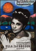 """Movie Posters:Foreign, Smiles of a Summer Night & Other Lot (Atlas Film, R-1965). German A1s (2) (23.25"""" X 33""""). Foreign.. ... (Total: 2 Items)"""