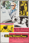 "Movie Posters:Crime, The Thomas Crown Affair (CM Films, R-1976). Spanish One Sheet(26.5"" X 39.25""). Crime.. ..."