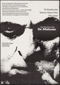 """Movie Posters:Crime, The Testament of Dr. Mabuse (Atlas Film, R-1963). German A1 (23.5"""" X 33.25""""). Crime.. ..."""