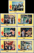 "Movie Posters:Drama, The Agony and the Ecstasy (20th Century Fox, 1965). Lobby Cards (7) (11"" X 14""). Drama.. ... (Total: 7 Items)"
