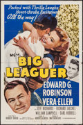 "Movie Posters:Sports, Big Leaguer (MGM, 1953). One Sheet (27"" X 41"") & Three Sheet (41"" X 78""). Sports.. ... (Total: 2 Items)"