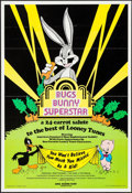 "Movie Posters:Animation, Bugs Bunny Superstar (Hare-Raising Films, 1976). One Sheets (2) (24.75"" X 36.5"") & Presskit (9.5"" X 11.75""). Animation.. ... (Total: 3 Items)"