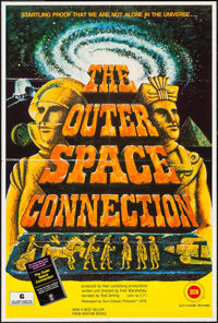 "The Outer Space Connection & Others Lot (Sun Classic, 1975). One Sheets (3) (27"" X 41""). Documentary..."