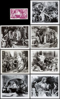 """Movie Posters:Historical Drama, The King of Kings (Cinema Corporation of America, R-1950s/R-1960s).Photos (24) (8"""" X 10"""") & Postcard (3.5"""" X 6""""). Historica...(Total: 25 Items)"""
