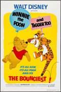 "Movie Posters:Animation, Winnie the Pooh and Tigger Too! (Buena Vista, 1974). One Sheet (27""X 41"") Flat Folded & Mini Lobby Card Set of 5 (8"" X 10"")...(Total: 6 Items)"