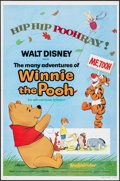 "Movie Posters:Animation, Winnie the Pooh and Tigger Too! (Buena Vista, R-1977/1968). One Sheet (27"" X 41"") & Uncut Pressbook (20 Pages, 11"" X 14.5"").... (Total: 2 Items)"