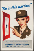 """Movie Posters:War, World War II Propaganda (U.S. Government Printing Office, 1944).Poster (12.5"""" X 19"""") """"I'm in This War Too!"""" War.. ..."""