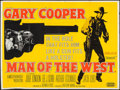 """Movie Posters:Western, Man of the West (United Artists, 1958). British Quad (29.5"""" X 39.75""""). Western.. ..."""