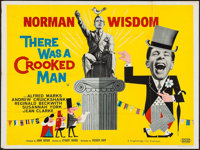 "There was a Crooked Man (United Artists, 1960). British Quad (30"" X 40""). Comedy"