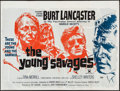 """Movie Posters:Crime, The Young Savages (United Artists, 1961). British Quad (30"""" X 40""""). Crime.. ..."""