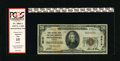 National Bank Notes:Virginia, Petersburg, VA - $20 1929 Ty. 1 First NB & TC Ch. # 3515. Amere 13 small size notes are reported with this second titl...