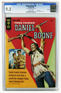 Silver Age (1956-1969):Adventure, Daniel Boone #6 File Copy (Gold Key, 1966) CGC NM- 9.2 Off-white pages. Only four copies of this issue have earned a higher ...