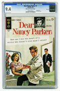 Silver Age (1956-1969):Romance, Dear Nancy Parker #1 File Copy (Gold Key, 1963) CGC NM 9.4Off-white to white pages. Highest grade yet assigned by CGC fort...