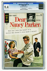 Dear Nancy Parker #1 File Copy (Gold Key, 1963) CGC NM 9.4 Off-white to white pages. Highest grade yet assigned by CGC f...