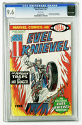 Bronze Age (1970-1979):Miscellaneous, Evel Knievel nn (Marvel, 1974) CGC NM+ 9.6 White pages. Ideal Toypromotional giveaway. Evel Knievel photo frontispiece. Ove...
