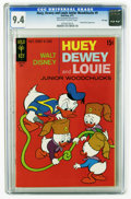 Bronze Age (1970-1979):Cartoon Character, Huey, Dewey, and Louie Junior Woodchucks #9 File Copy (GoldKey/Whitman, 1971) CGC NM 9.4 Off-white to white pages. Highest ...