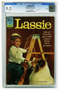 Silver Age (1956-1969):Adventure, Lassie #58 File Copy (Dell, 1962) CGC NM- 9.2 Off-white to white pages. Tied with one other copy for highest-graded of this ...