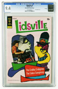 Bronze Age (1970-1979):Cartoon Character, Lidsville #3 File Copy (Gold Key, 1973) CGC NM 9.4 Off-white towhite pages. Highest grade yet assigned by CGC for this issu...