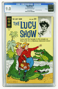 The Lucy Show #5 File Copy (Gold Key, 1964) CGC VF/NM 9.0 Off-white to white pages. Highest grade yet assigned by CGC fo...