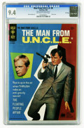 Silver Age (1956-1969):Adventure, Man from U.N.C.L.E. #8 File Copy (Gold Key, 1966) CGC NM 9.4 Off-white to white pages. Photo cover. Mike Sekowsky art. Overs...