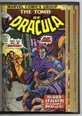 Bronze Age (1970-1979):Horror, Tomb of Dracula #17-32 Bound Volume (Marvel, 1973-75). Trimmed copies of issues #17, 18, 19, 20, 21, 22, 23, 24, 25 (origin ...