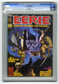 Magazines:Horror, Eerie #129 (Warren, 1982) CGC NM+ 9.6 White pages. Bill Dubay's last issue as editor. Art by Rudy Nebres, Pat Boyette, and J...