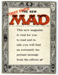 """Magazines:Mad, Mad #24 (EC, 1955) Condition: VG. First magazine issue. First""""What? Me Worry?"""" on cover. Harvey Kurtzman logo and border on..."""