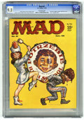 "Magazines:Mad, Mad #51 (EC, 1959) CGC NM- 9.2 Off-white pages. ""The Price is Right"" satire. ""Teen"" magazine spoof. Frank Kelly Freas cover...."